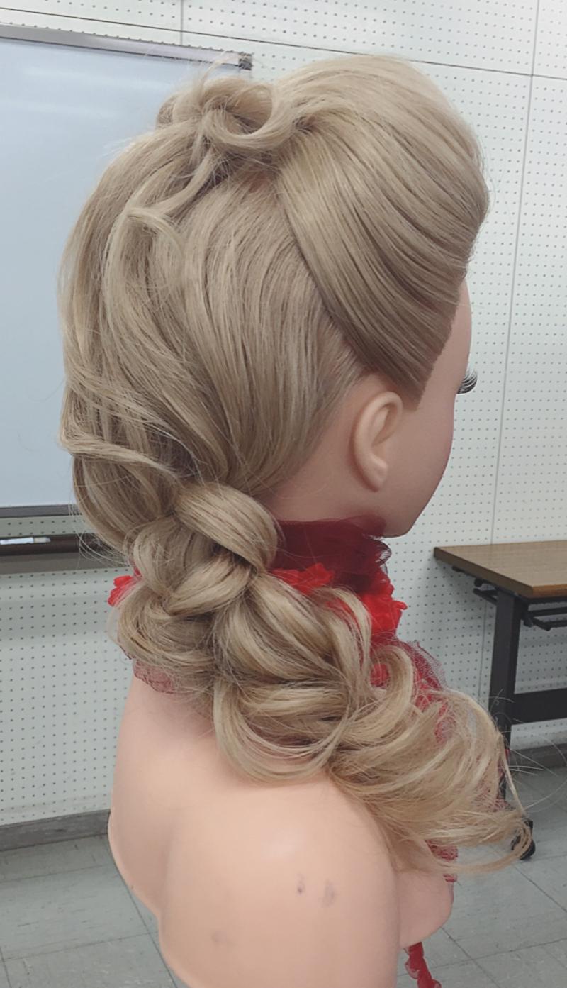 Hair Up 勉強会